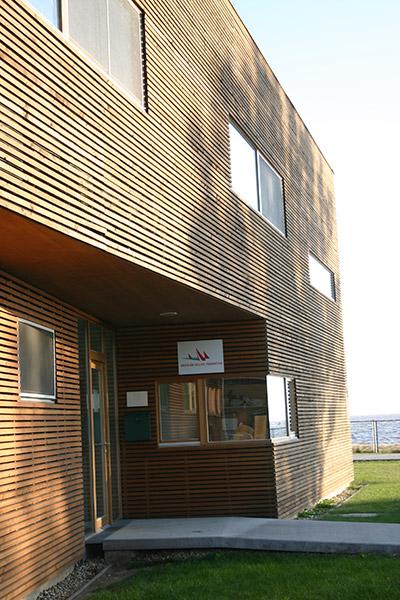 Kast Fassade Segelzentrum