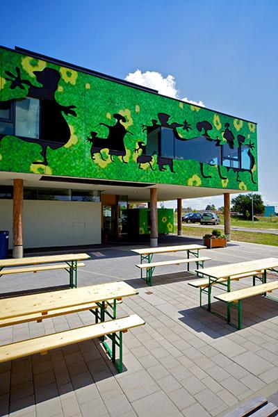 Holzbau Kast Kindergarten Neusiedl