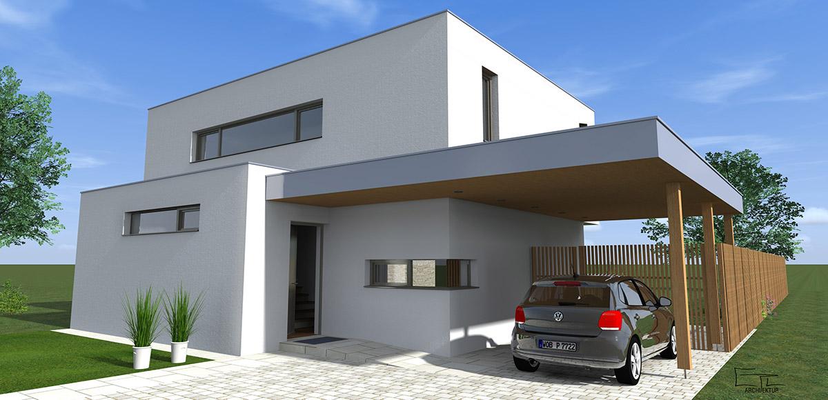 Kubus bungalow m bel ideen innenarchitektur for Fertighaus kubus